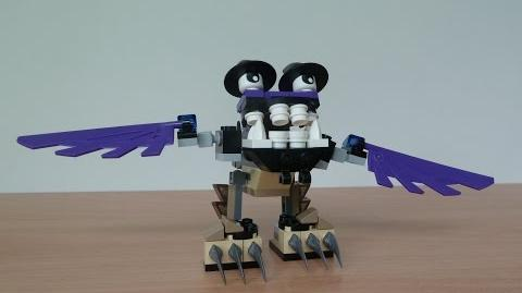 LEGO MIXELS FOOTI and MESMO MIX with Lego 41521 and Lego 41524 Mixels Serie 3