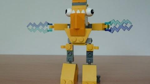 LEGO MIXELS TESLO AND ZAPTOR MIX with Lego 41506 and Lego 41507 Mixels Serie 1
