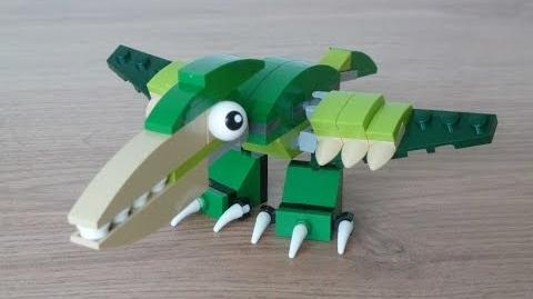 LEGO MIXELS SERIES 10 MOC Instructions PTERODACTYL DINOSAURZ Tribe