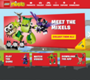 Mixels Websites