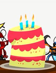 Mixels cake