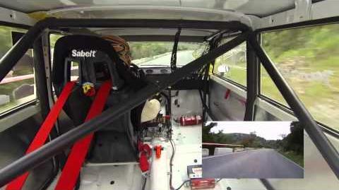 Pedro Antonio Martin - Seat 124 - Subida Ubrique 2015 Entrenos