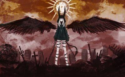 Dark Angels Open the Seals over earth