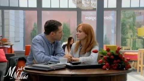 M jak Miłość - Kwiaty na pożegnanie - scena z odc. 1080