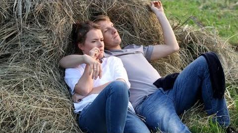 M jak Miłość - Sielanka na sianie - scena z odc