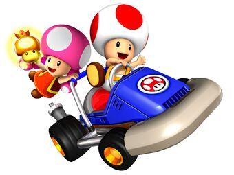 Toad Mario Kart Double Dash Wiki Fandom