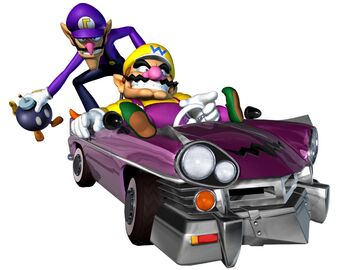 Waluigi Mario Kart Double Dash Wiki Fandom