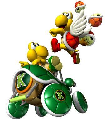 Koopa Troopa Mario Kart Double Dash Wiki Fandom
