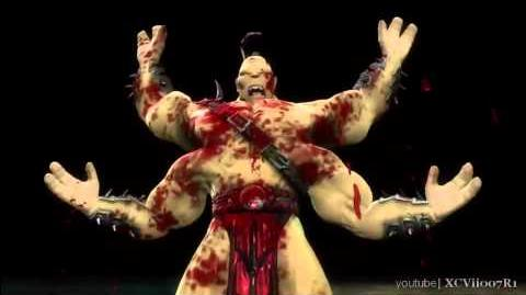 Mortal Kombat 9 (2011) Goro Fatality 2
