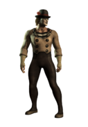 Mkxl johnny cage ninja mime hq cutout by molim dbnkj8i-fullview