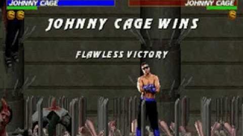 Mortal Kombat Trilogy - Brutality - Johnny Cage