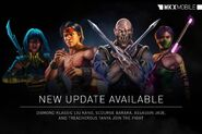 Mortal Kombat X mobile jade baraka liu kang