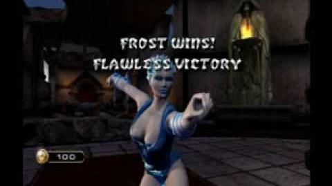 Mortal Kombat Armageddon - Female Win Poses In Primary & Alternate Costumes