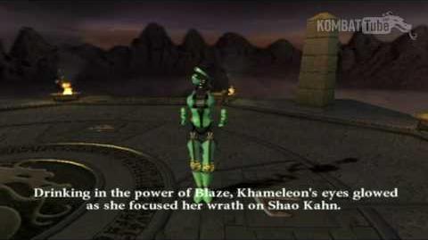 MK-Armageddon Ending- Khameleon