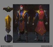 Mortal Kombat X MKX Concept Art MN Shinnok 02