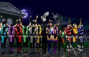 Palette Swap Mortal Kombat Wiki Fandom