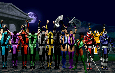 Mortal Kombat Online - Mortal Kombat (2011) - All Ninja Palette ...
