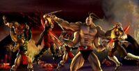 The Shokans with the Dragong Fangs