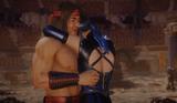 Kitana and Liu Kang MK 11