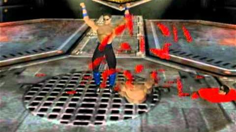 Mortal Kombat Gold - Dreamcast - Johnny Cage - Fatality 2