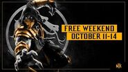 Mortal Kombat 11 – Free Weekend Trailer Oct
