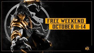 Mortal Kombat 11 – Free Weekend Trailer Oct. 11-14