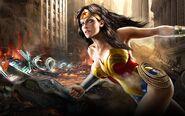 Mortal Kombat vs DC Universe Wonder Woman Wallpaper