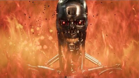 Mortal Kombat 11 The Terminator's Intros & Victories
