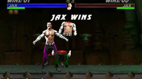 Video - Mortal Kombat 3 - Fatality 1 - Jax | Mortal Kombat