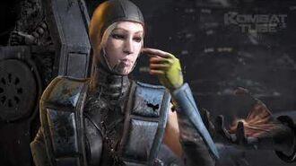 """MK 10 Cassie Cage """"Bubble Head"""" Fatality"""
