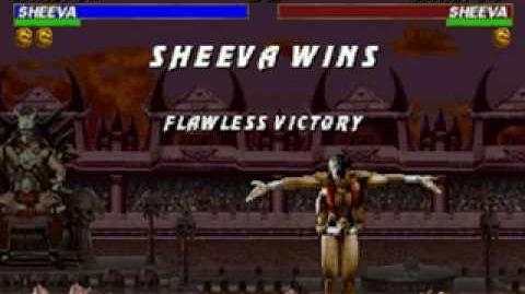 Mortal Kombat Trilogy - Brutality - Sheeva