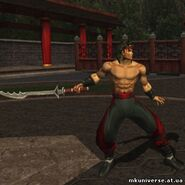 Liu kang weapon mka