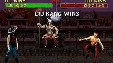 Mortal Kombat II - Friendship- Liu Kang