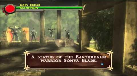 -PlayStation 2- - Mortal Kombat- Shaolin Monks - The Warrior Shrine - Ermac (Secret Boss)