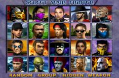 Mortal-kombat-gold-characters-select-screen