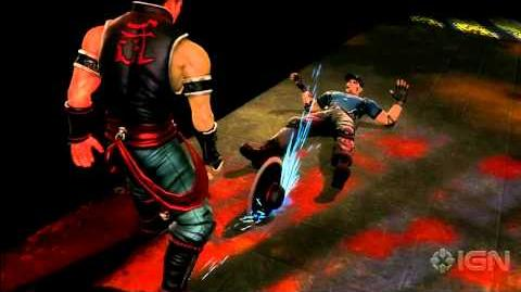 Mortal Kombat Kung Lao Fatalities