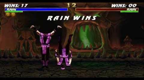 Mortal Kombat Trilogy - Rain Fatality