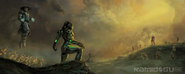 Cyrax MK9 ending2