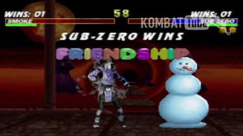 MK III Sub-Zero Friendship