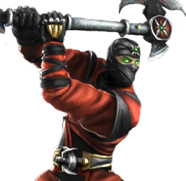 Ermac with his axe