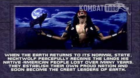 MK III Ending- NIGHTWOLF