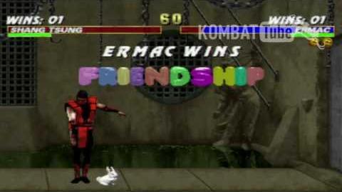 MK III Ermac Friendship