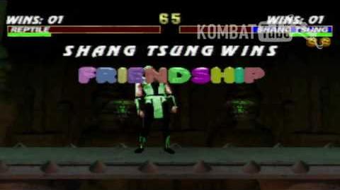 MK III Shang Tsung Friendship