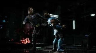 Mortal Kombat 11 Johnny Cage Mr Cage's Neighborhood Fatality