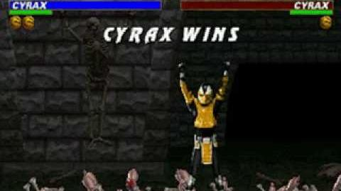 Mortal Kombat Trilogy - Brutality - Cyrax