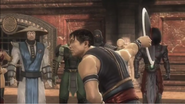 Kung Lao takes off his hat