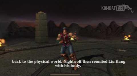 MK-Armageddon Ending- Nightwolf