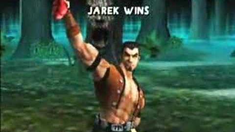 Mortal Kombat Armageddon Jarek's Kombat Card
