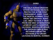 Goro biography mk4