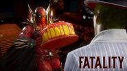 MK11 - SPAWN Performs Other Characters Fatality